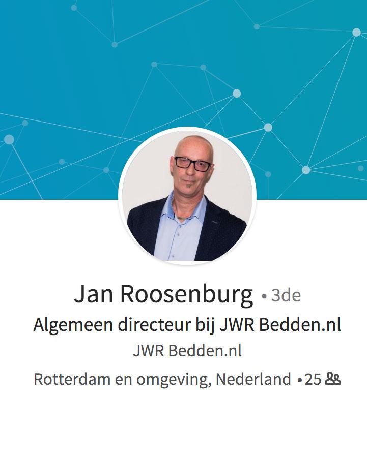Linkedin JWR Bedden.nl